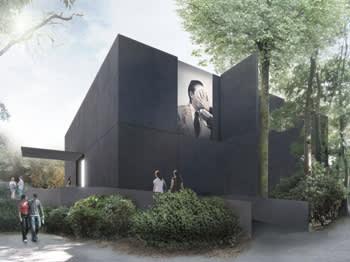 CGI image of the new Australian pavilion in Venice