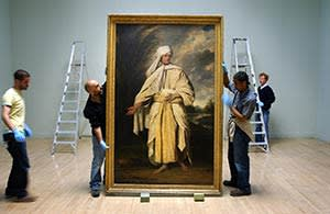 Joshua Reynolds' 'Omai' (1776) at Tate Britain