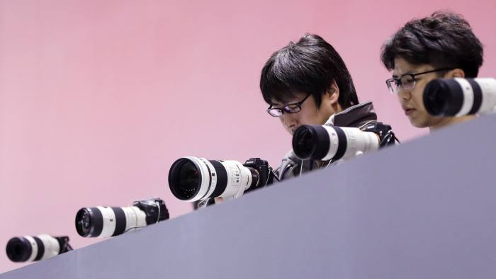 Encryption is out of sight for camera makers | Financial Times