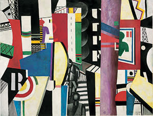 'The City' (1919) by Fernand Léger