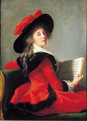 'Baronne de Crussol Florensac' (1785)