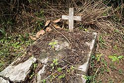 The village graveyard