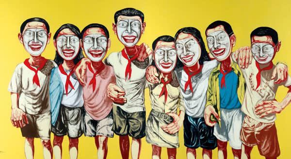 1996: 'Mask Series No 6'