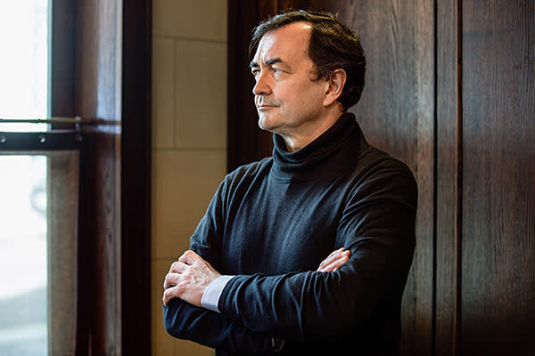 Pianist, conductor and artistic director Pierre-Laurent Aimard in London last week