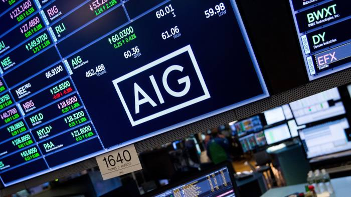 Aig Freed From Too Big To Fail Regulation Financial Times