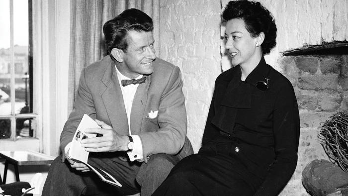 Robin and Lucienne Day, who were 'at their happiest together creating their homes'