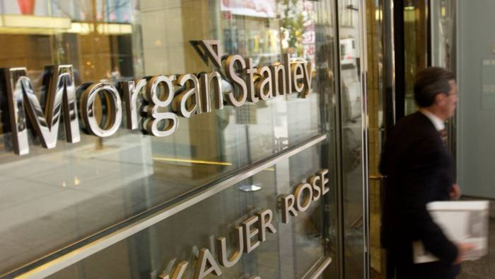 Morgan Stanley records biggest fourth-quarter profit since