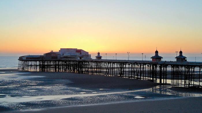 Blackpool's North Pier, Lancashire