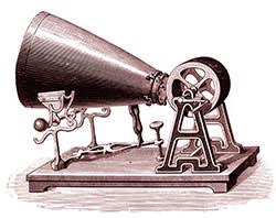 Edouard-Léon Scott de Martinville's sound recording device