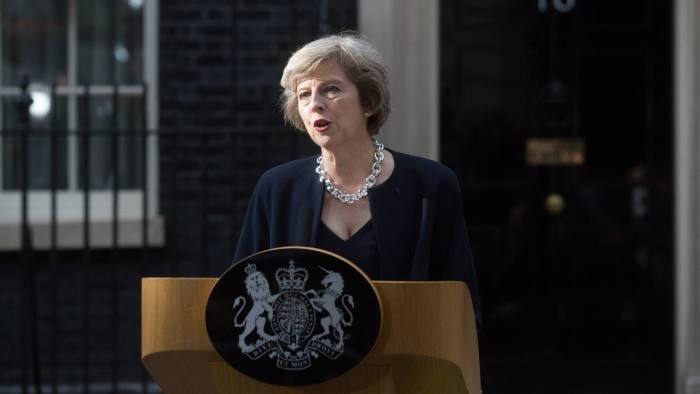 Image result for theresa may prime minister of england