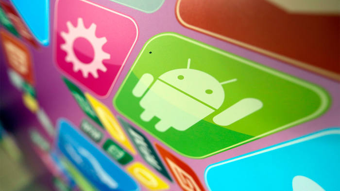 Android operating system and icons