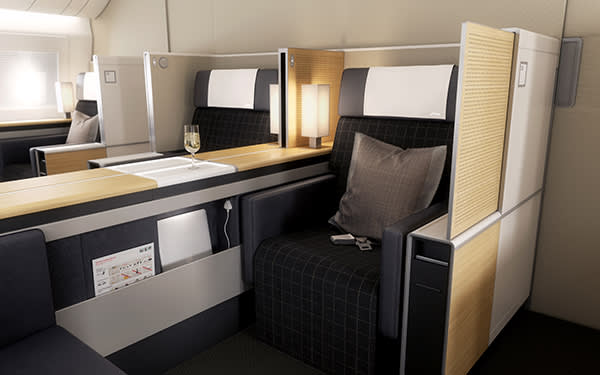 The new first class suite for Swiss
