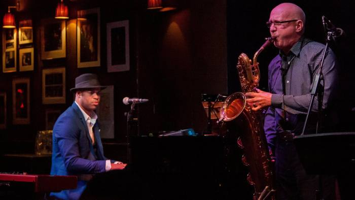 28919fd0b83a Gripping solos and souped-up rhythms  Roberto Fonseca Trio at Ronnie Scott s