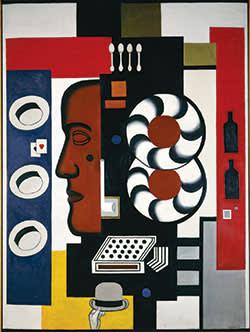 Léger's 'Composition à la main et aux chapeaux' (1927)