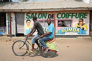 Bumba, the nearest town to Yambuku