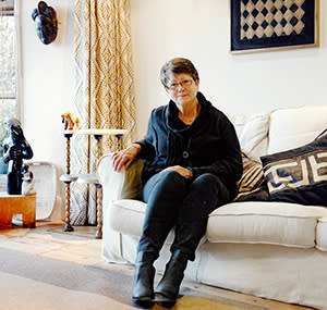Andrea Coleman at her home in Northamptonshire, UK