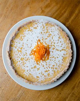 Rowley Leigh's Seville orange tart