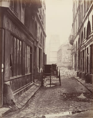 'Rue Estienne' (1862-65) by Charles Marville