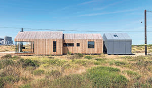 Pobble House in Dungeness designed by Guy Hollaway