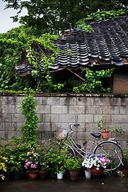 Kiryu, Gunma, Japan: Town and empty houses