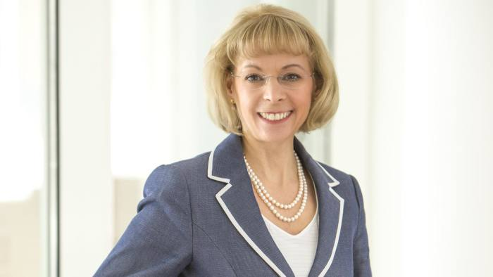 Nancy McKinstry, chief executive of Wolters Kluwer