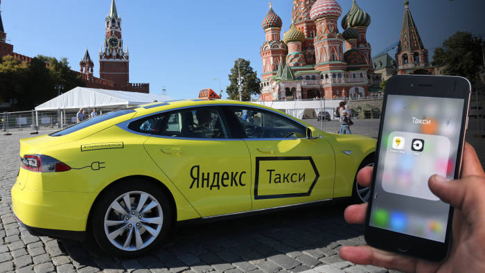Russian ride hailing apps power up   Financial Times