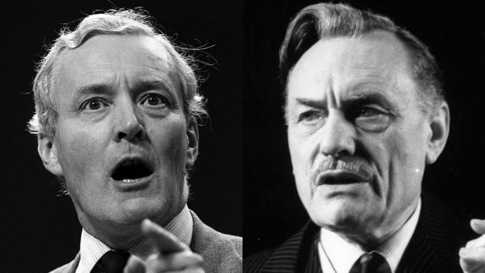 Tony Benn, Enoch Powell montage