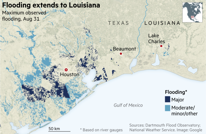 Daily briefing: Houston's poisoned floodwaters, Kenyan court