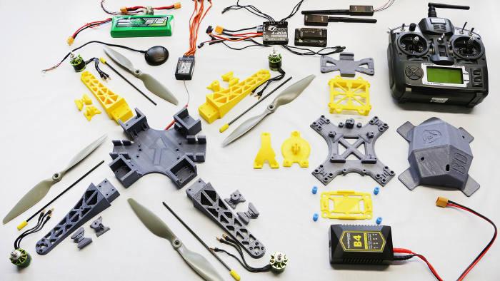 BonaDrone's Mosquito 450 3D-printed quadcopter kit