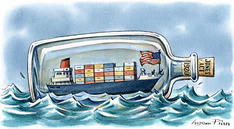 Bye-bye, American shipping lines | Financial Times