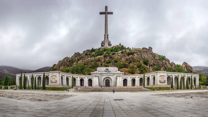 The Valley of the Fallen or the Benedictine Abbey of Santa Cruz