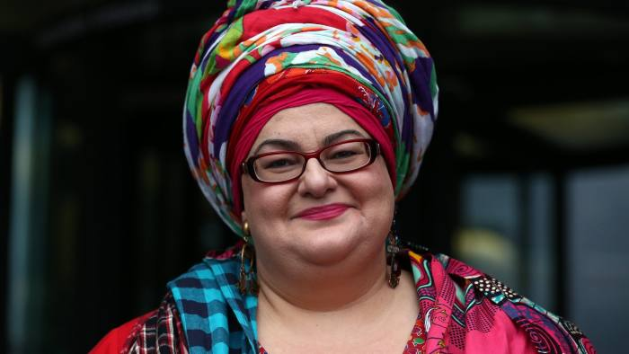 LONDON, ENGLAND - OCTOBER 15: Kids Company founder Camila Batmanghelidjh arrives to attend a select committee hearing at Portcullis House on October 15, 2015 in London, England. Ms Batmanghelidjh will face questions from MPs relating to alleged mismanagement of her now defunct Kids Company charity. (Photo by Carl Court/Getty Images)