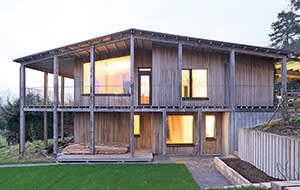 Dundon Passive House in Somerset by Graham Bizley