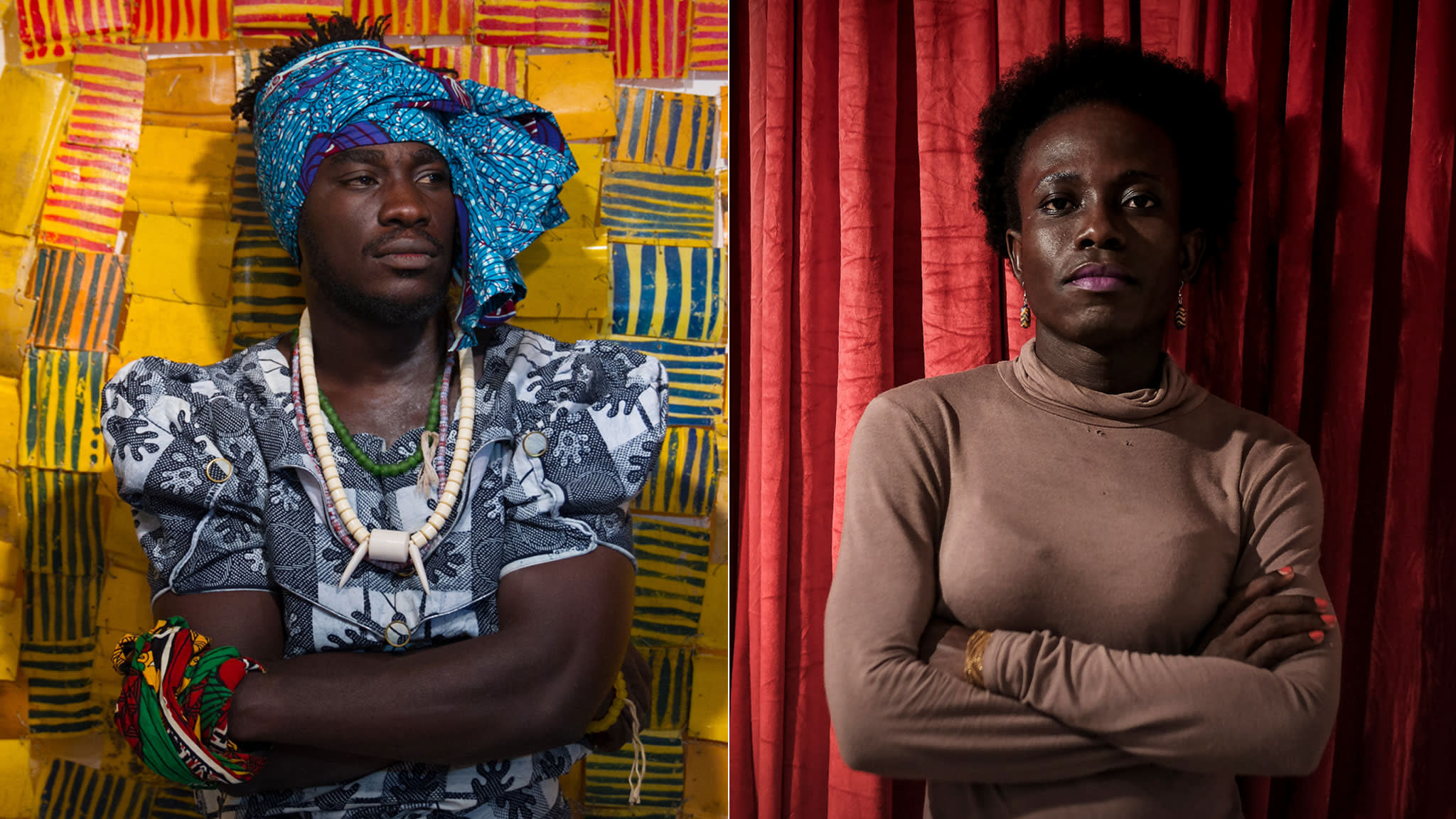 Cultural identity: fabric in African art | Financial Times