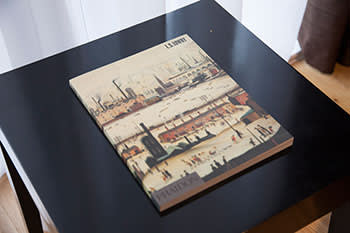 Book of paintings by LS Lowry