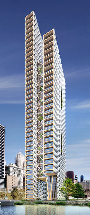 River Beech Tower, Chicago, by Perkins+Will and Cambridge university