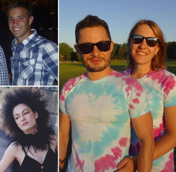 'Before and after' photos with boyfriend Jake Graf