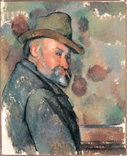 Paul Cézanne's 'Self-portrait with Soft Hat' (c1890-94)