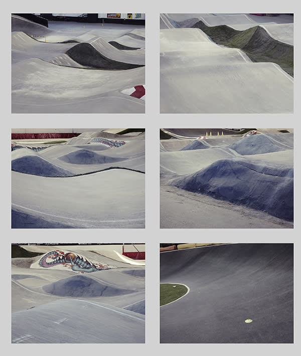 The National Cycling Centre has a competition-ready BMX track arena, which is fully covered for year-round use. Grid design © Nadav Kander
