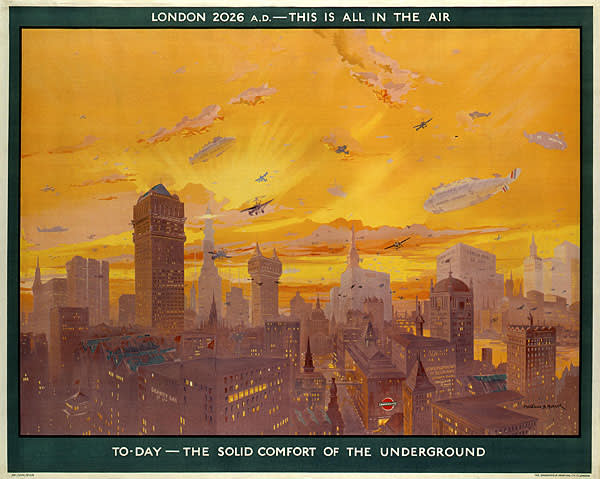 London 2026 AD_ this is all in the air, by Montague B Black, 1926