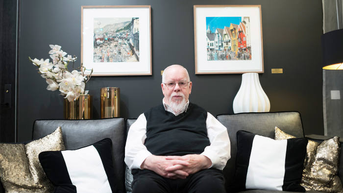 Sir Peter Blake, who has created three collages for The Thief