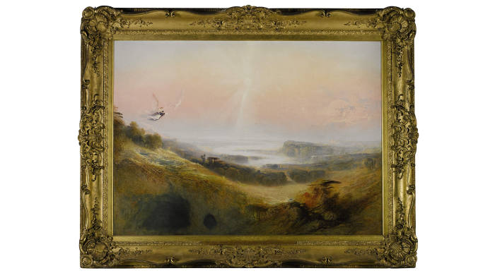 'The Celestial City and River of Bliss' (1841), by John Martin