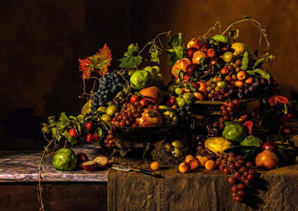 Pome Dorres (Meat Fruit) from Leche Vyaundez, Harley MS 279 (c. 1430)