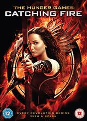 DVD cover - The Hunger Games: Catching Fire