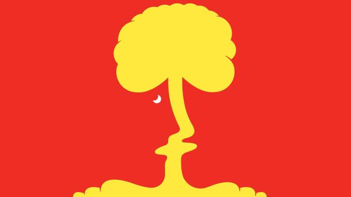 Mushroom cloud illustration by Angus Greig