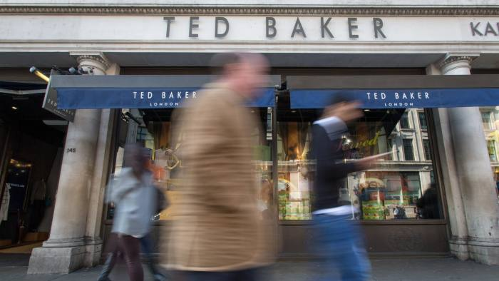 d5ec7feb4 Ted Baker chief says rising rents and business rates are putting pressure  on retailers