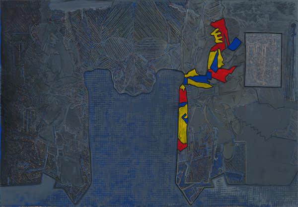 'Regrets 2013' by Jasper Johns