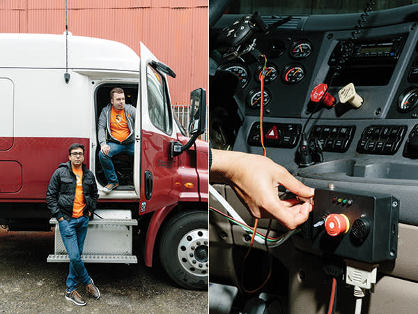 Out of road: driverless vehicles are replacing the trucker