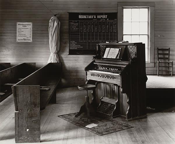 'Church Organ and Pews' (1936), by Walker Evans