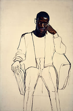 Alice Neel's 'James Hunter Black Draftee' (1965)